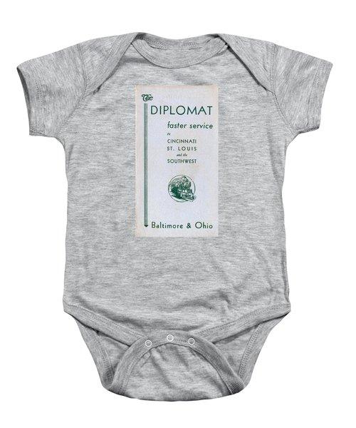 The Diplomat Baby Onesie