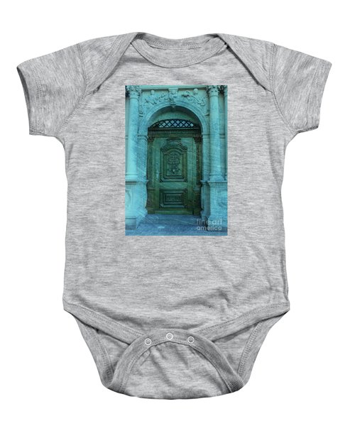 The Door To The Secret Baby Onesie