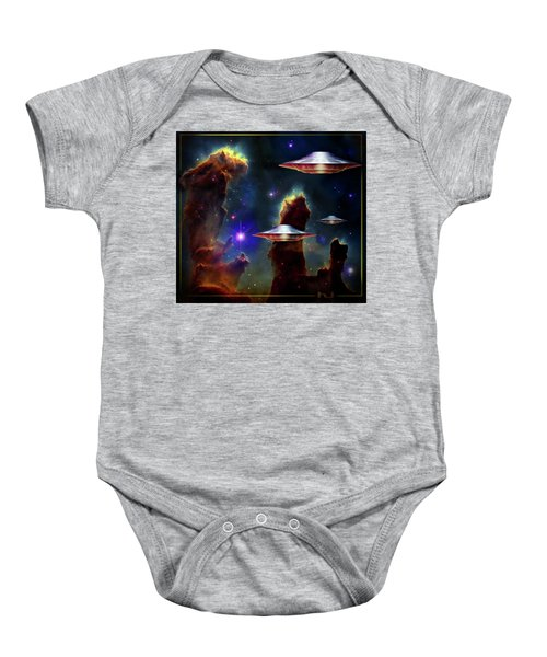 The  Eagle  Nebula  Baby Onesie