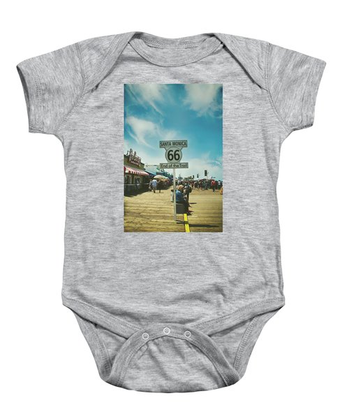 The End Of Sixty-six Baby Onesie