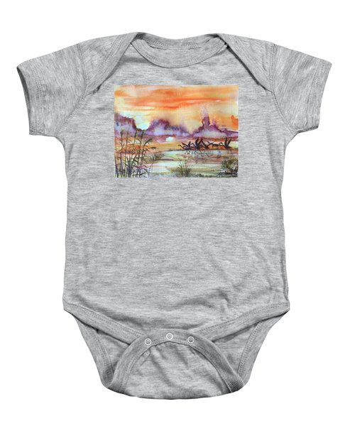 The End Of The Day 2 Baby Onesie