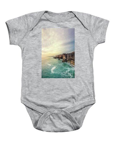 The Eternal Song Of The Ocean Baby Onesie