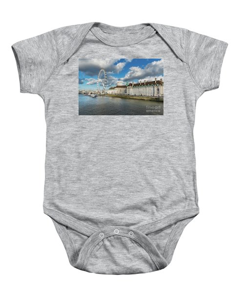 The Eye London Baby Onesie by Adrian Evans