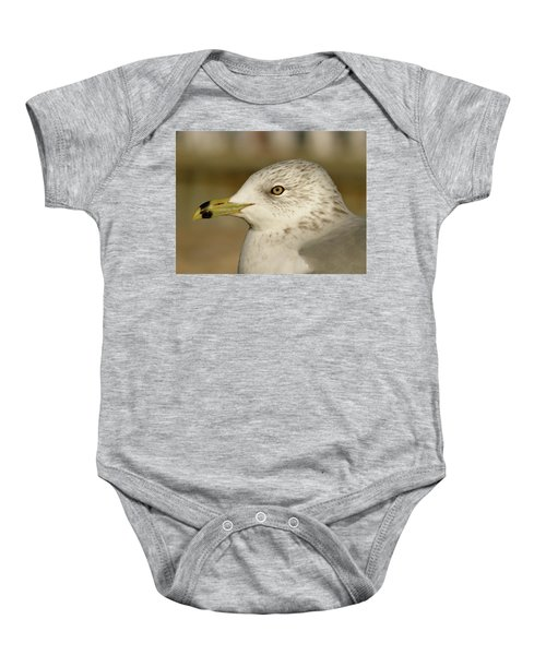 The Eye Of The Seagull Baby Onesie