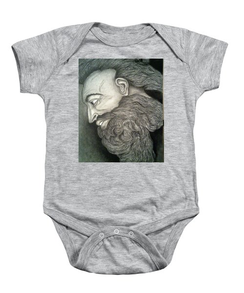 The Face Of God Baby Onesie