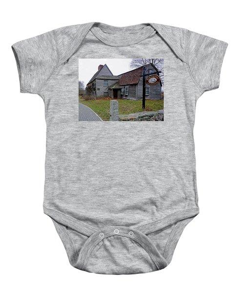 The Fairbanks House Baby Onesie