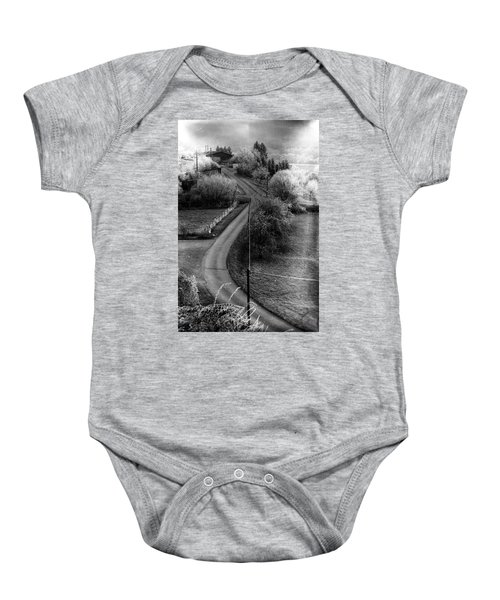 The First Morning Of The First Day Baby Onesie