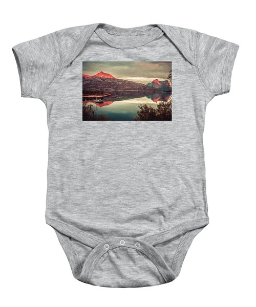 The Flames Baby Onesie