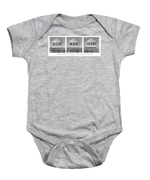 The Flower Cottages Trio Poster Baby Onesie