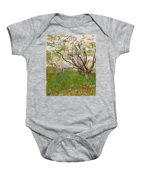 The Flowering Orchard, 1888 Baby Onesie