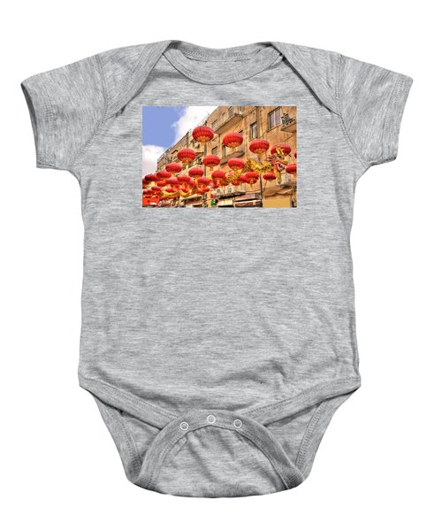 The Flying Dragon Baby Onesie