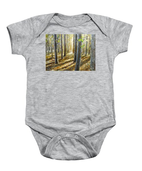 The Forest And The Trees Baby Onesie