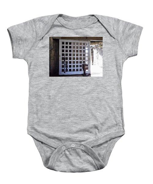 The Fort Door Baby Onesie