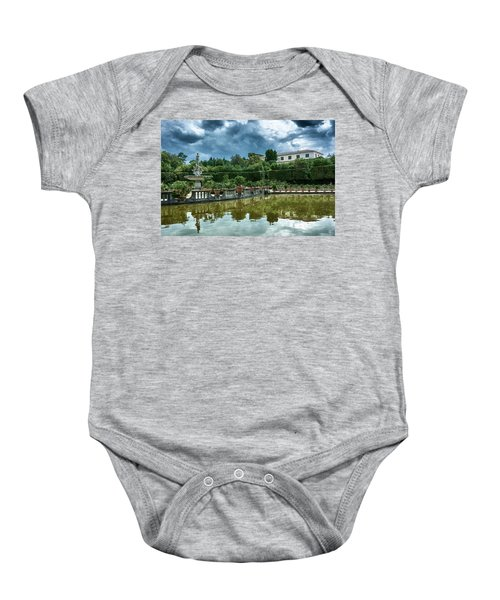 The Fountain Of The Ocean At The Boboli Gardens Baby Onesie