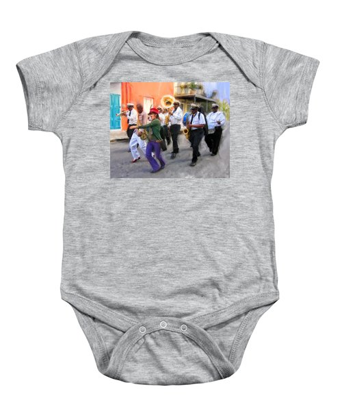 The French Quarter Shuffle Baby Onesie