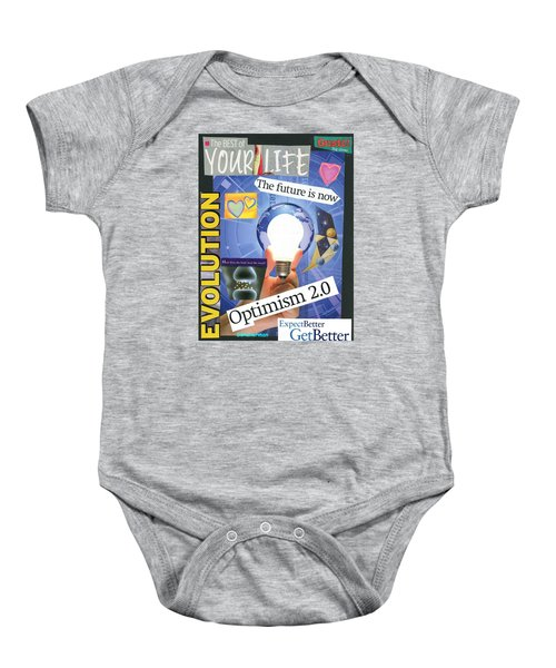 The Future Is Now Baby Onesie