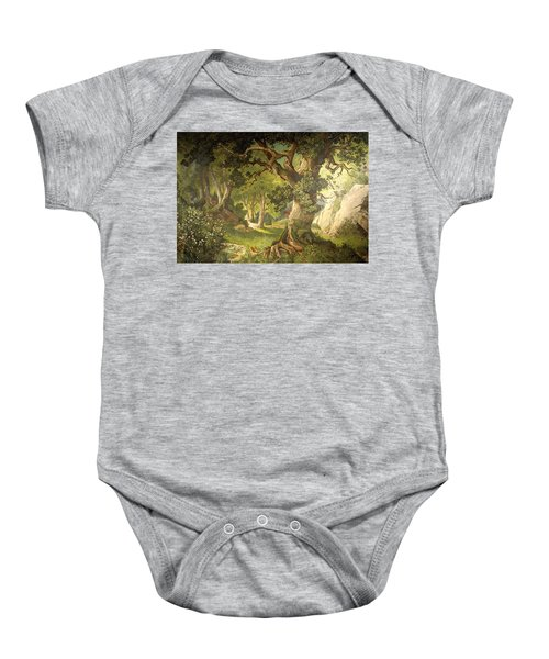 The Garden Of The Magician Klingsor, From The Parzival Cycle, Great Music Room Baby Onesie