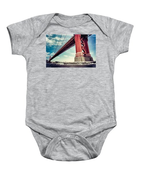The Golden Gate Baby Onesie