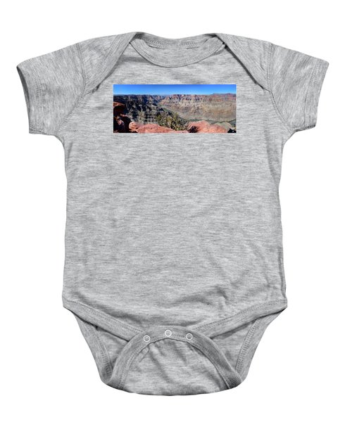 The Grand Canyon Panorama Baby Onesie