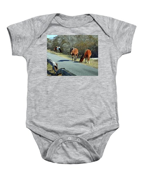 The Grass Is Always Greener Baby Onesie