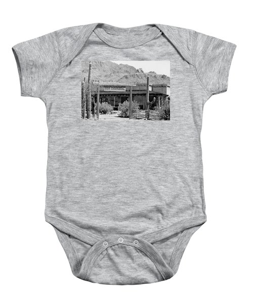 The High Chaparral Set With Sign Old Tucson Arizona 1969-2016 Baby Onesie