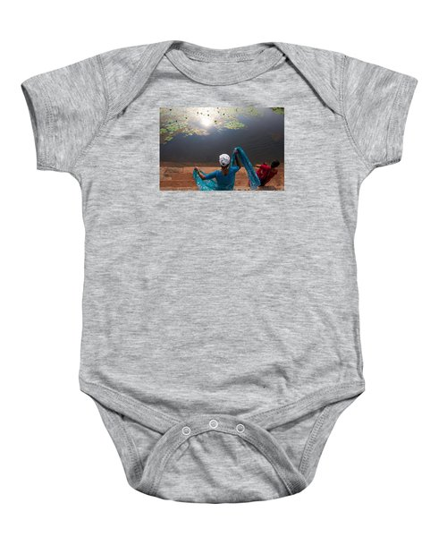 The Holy Pond Baby Onesie