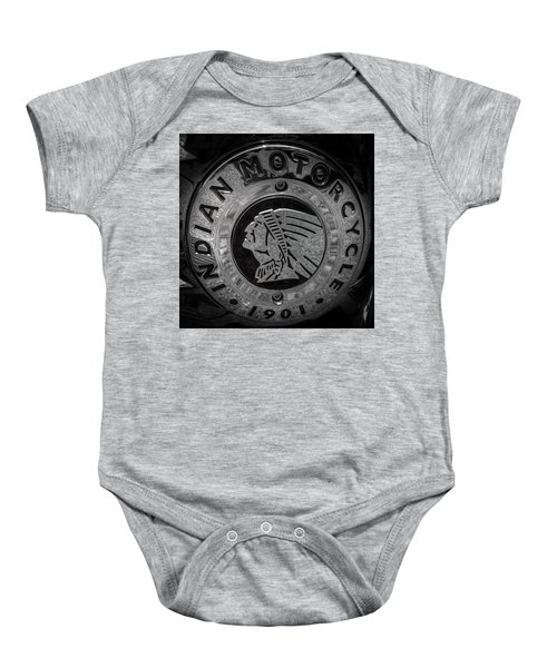 The Indian Motorcycle Logo Baby Onesie
