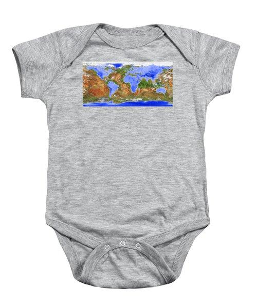 The Inverted World Baby Onesie