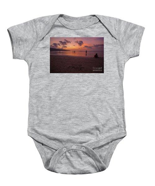 The Island Of God #15 Baby Onesie