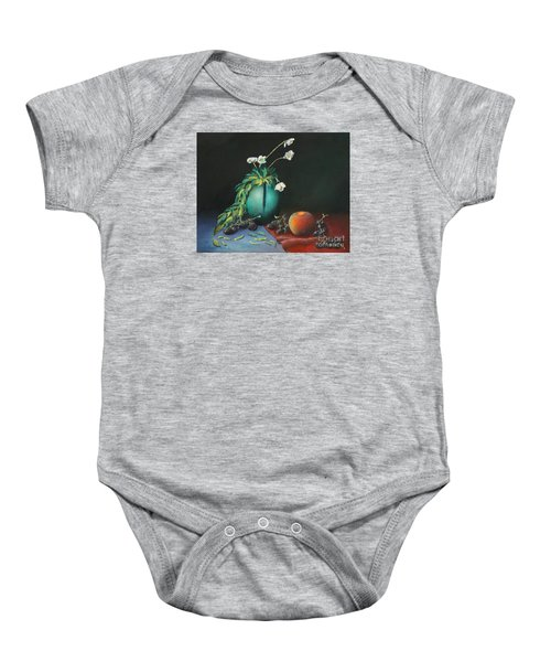 The Jade Vase And Jasmine Baby Onesie