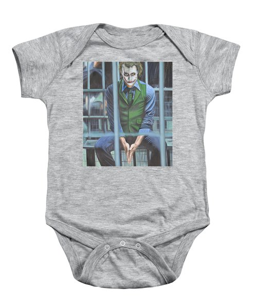 The Joker Baby Onesie by Colm Hutchinson