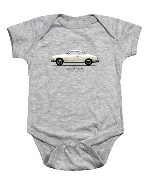 The Karmann Ghia Baby Onesie by Mark Rogan