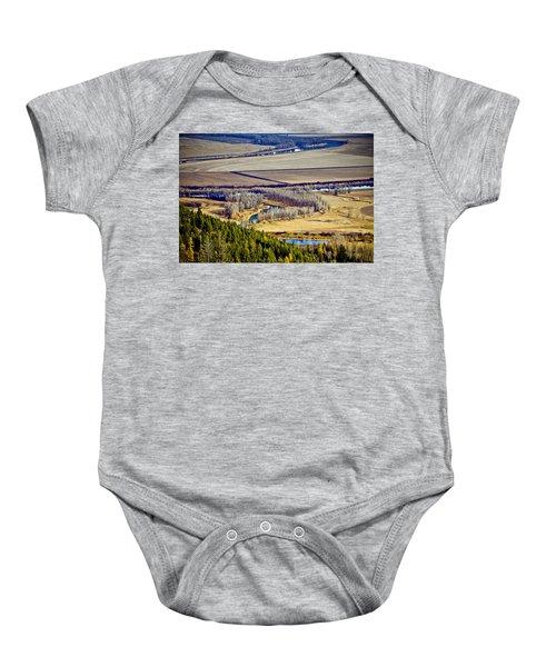 The Kootenai Valley Baby Onesie