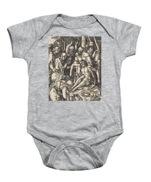 The Lamentation, From The Small Passion Baby Onesie
