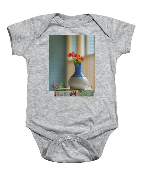 The Little Vase Baby Onesie