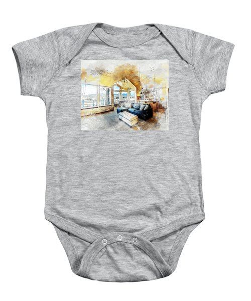 The Living Room Baby Onesie
