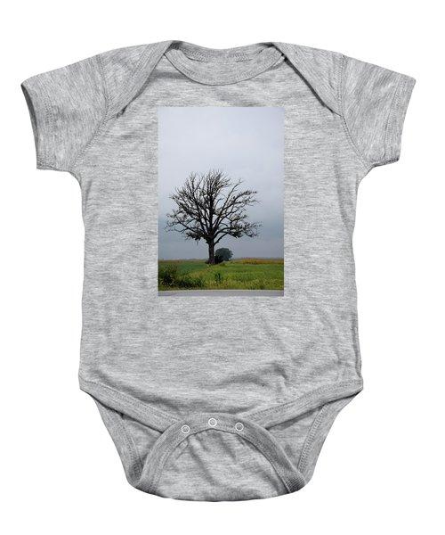 The Lonely Tree Baby Onesie