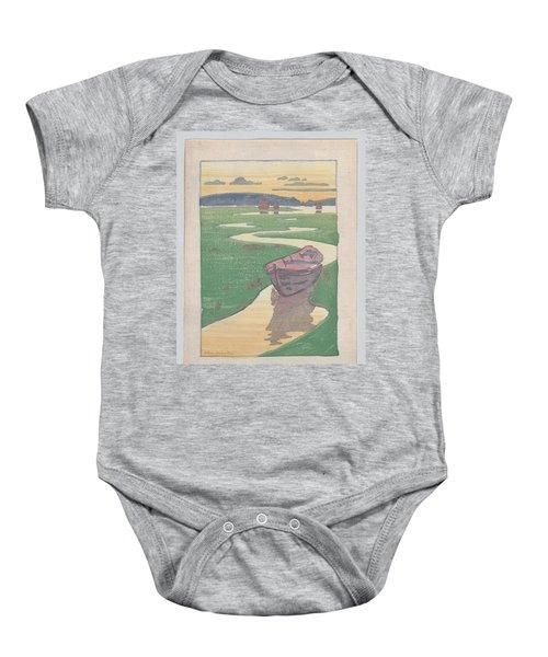 The Lost Boat , Arthur Wesley Dow Baby Onesie