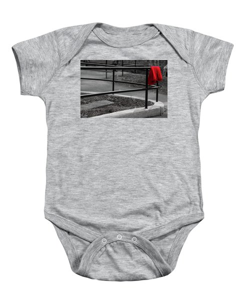 The Lost Red Jacket Baby Onesie