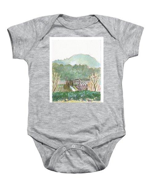 The Luberon Valley Baby Onesie