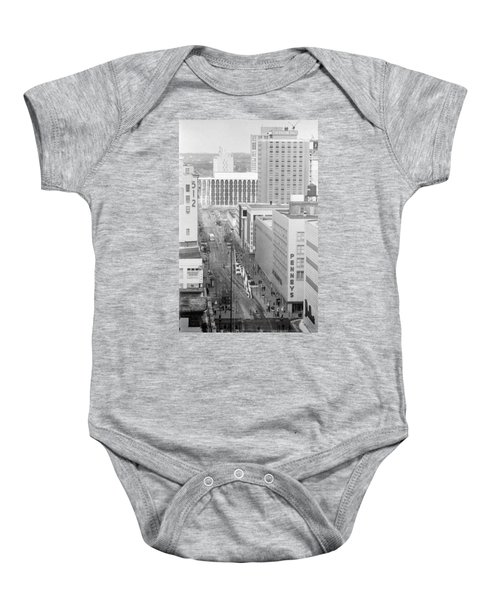 The Mall From Dayton's 12th Floor Baby Onesie