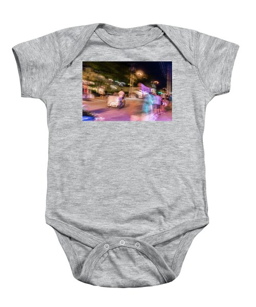 The Many Moods Of Duval Street Baby Onesie