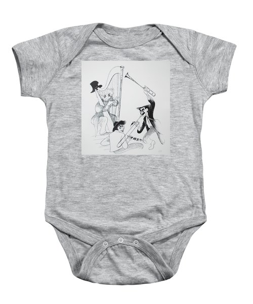 The Marx Brothers O Baby Onesie