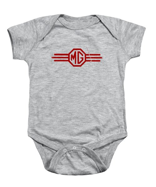The Mg Sign Baby Onesie