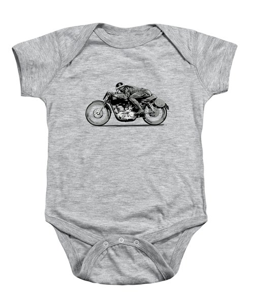 The Motorcycle Dust Devil Baby Onesie