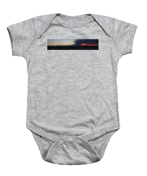 The Mount Charleston Fire Baby Onesie