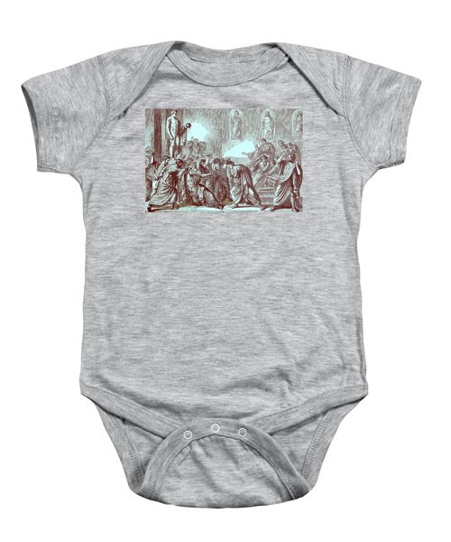 The Murder Of Julius Caesar Baby Onesie