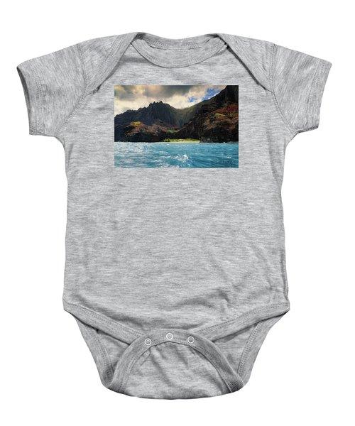 The Napali Coast Baby Onesie