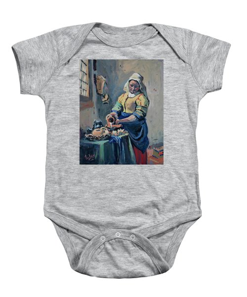 The New Milkmaid Baby Onesie