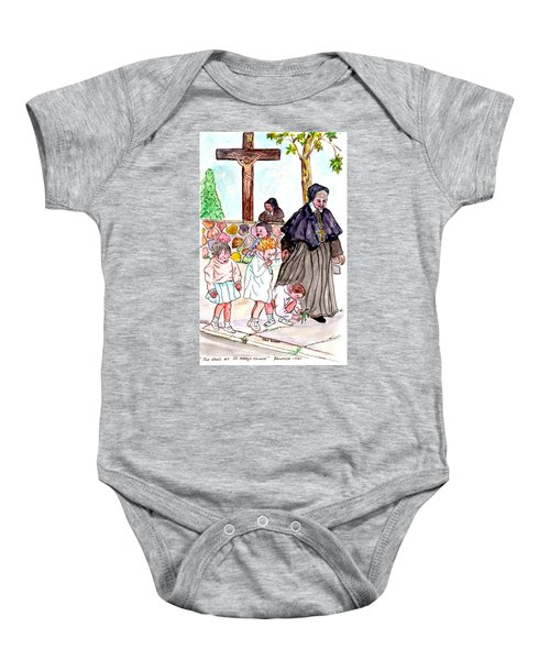 The Nuns Of St Mary's Church Baby Onesie